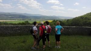 pohled na hrad Beckov