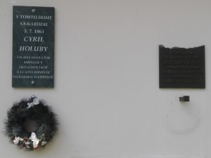 rodný dům bratrů Holuby