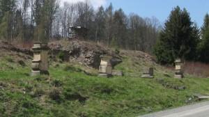 zbytky kláštera