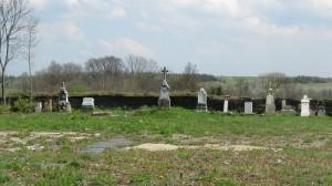 zlikvidovaný a neudržovaný hřbitov