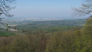 pohled na Olomouc z Bílého kamene