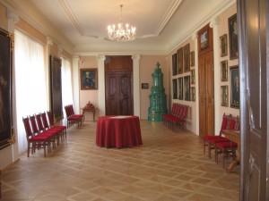 interiér renovovaného zámku