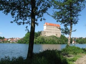 nádherný pohled na zámek